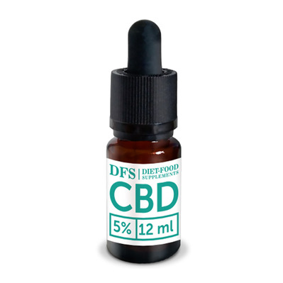 Diet food CBD OIL 5% - Flacon d'huile de graine de chanvre 10ml