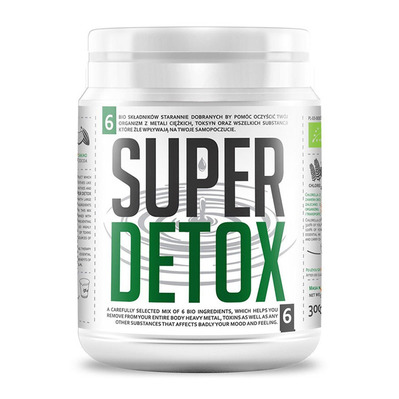 Diet food BIO SUPER DETOX MIX - Pot de poudre 300g