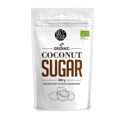 Diet food BIO COCONUT SUGAR - Sachet sucre de coco 400g