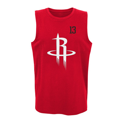 ALL NET HOUSTON ROCKETS JAMES HARDEN - Camiseta de tirantes hombre team color
