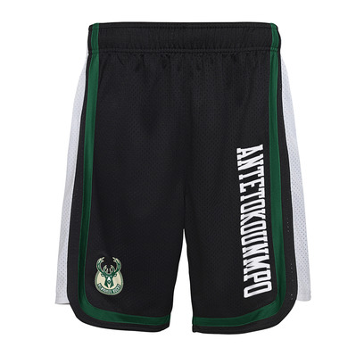 HOOPER BALL MILWAUKEE BUCKS GIANNIS ANTETOKOUNMPO - Short hombre team color