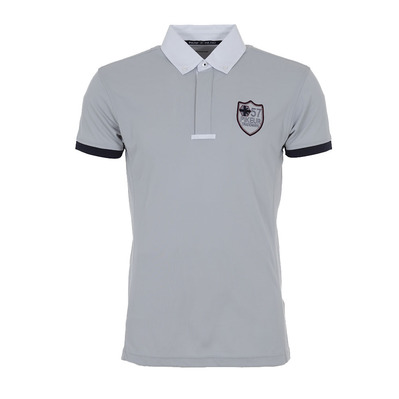 411 - Polo concours Homme grey