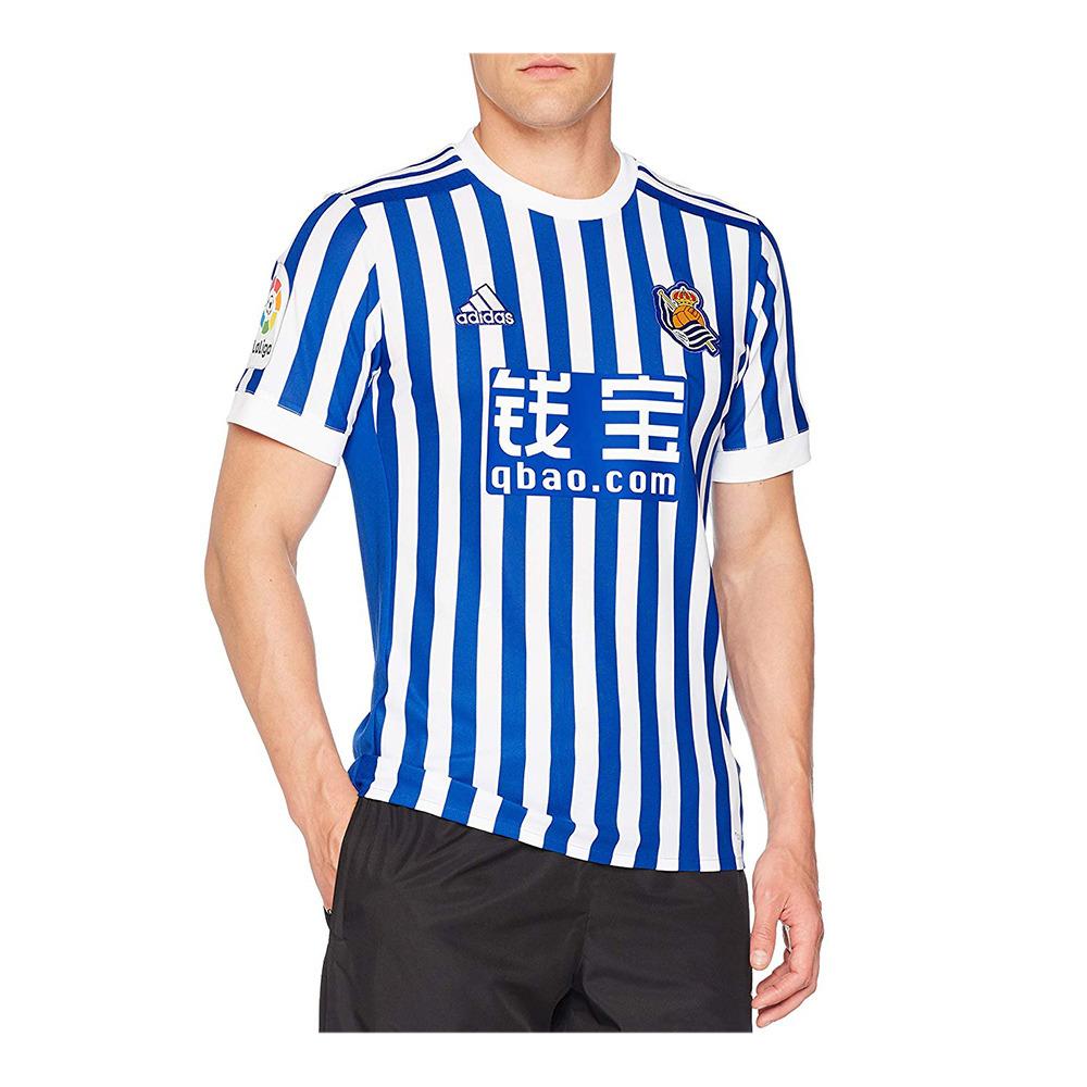 radical Menos Comercial  ADIDAS FÚTBOL Adidas REAL SOCIEDAD HOME 17/18 - Camiseta hombre blue -  Private Sport Shop