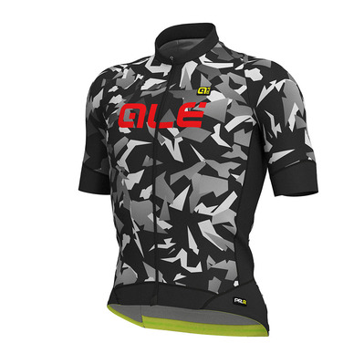 Alé PRR GLASS - Maillot Homme black/grey