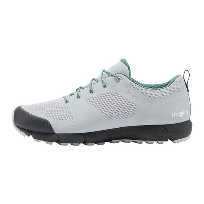 HAGLOFS - L.I.M LOW PROOF ECO - Zapatillas de senderismo mujer stone grey/willow green