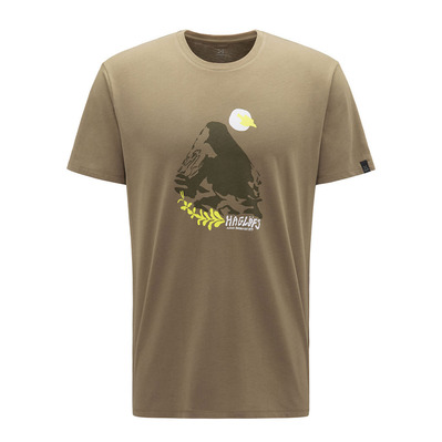 HAGLOFS - Camp Tee Men Homme Sage Green/Sprout Green