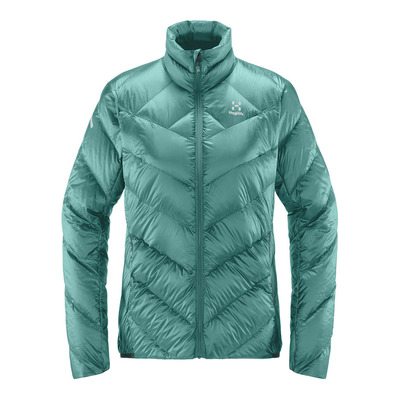 HAGLOFS - L.I.M Essens Jacket Women Femme Glacier Green