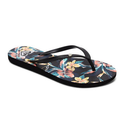 ROXY - BERMUDA PRINT - Chanclas mujer anthracite