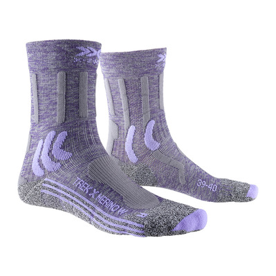 X-SOCKS - X MERINO - Socks - Women's - grey purple/grey