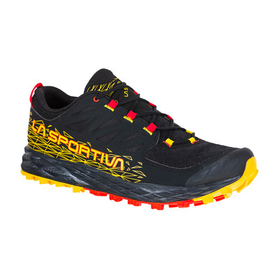 LA SPORTIVA - LYCAN II - Chaussures trail Homme black/yellow