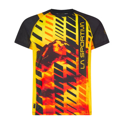 LA SPORTIVA - WAVE - Maillot Homme black/yellow