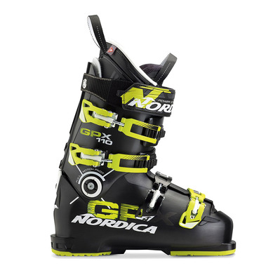 GPX 110 - Chaussures ski Homme black/lime