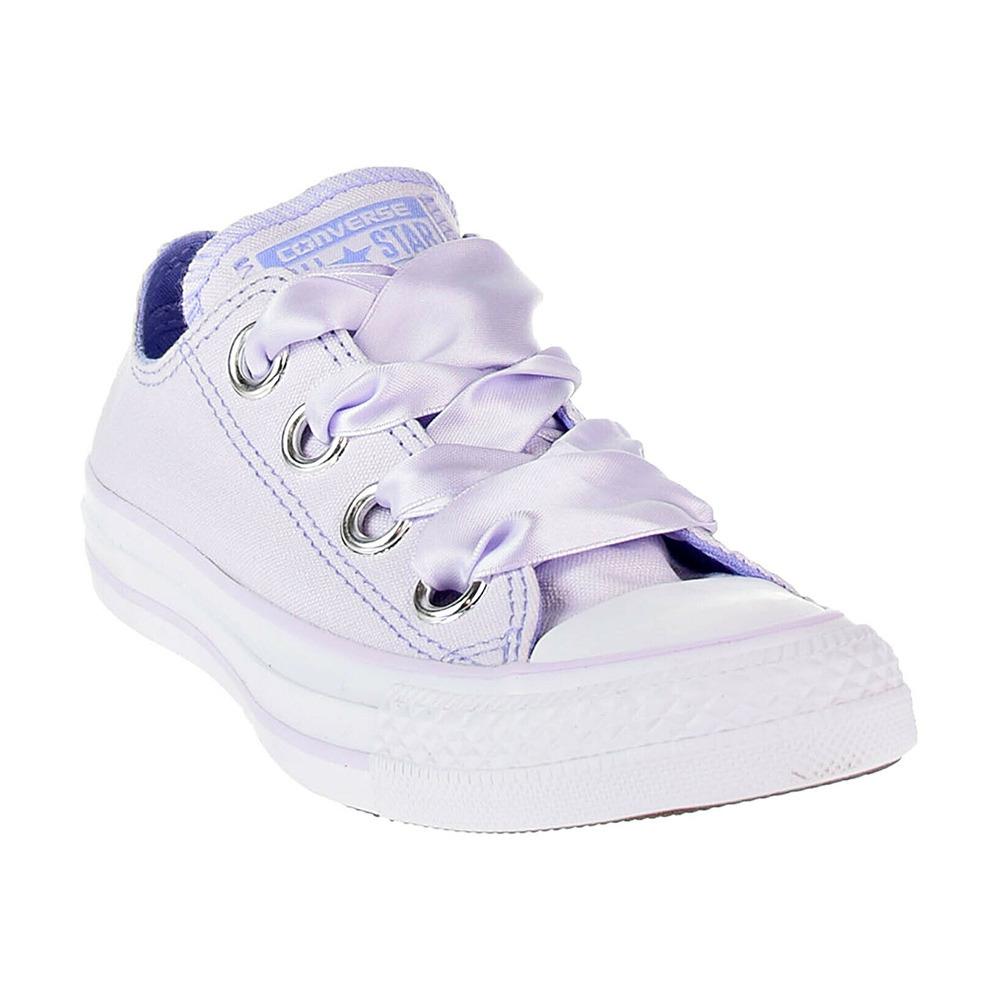 chaussure toile lavande femme converse