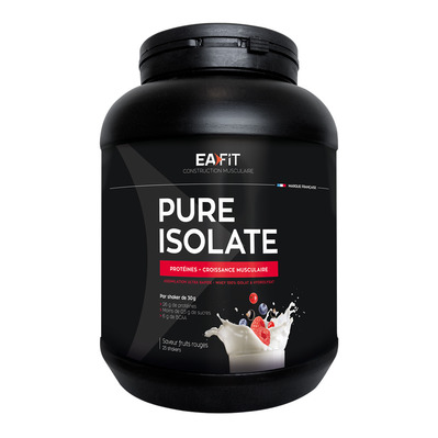 EA Fit PURE ISOLATE - Poudre 750g fruits rouges