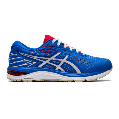 ASICS - GEL-CUMULUS 21 Homme ELECTRIC BLUE/WHITE