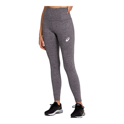 ASICS - HIGH WAIST TIGHT 2 Femme MID GREY HEATHER/DARK GREY HEATHER