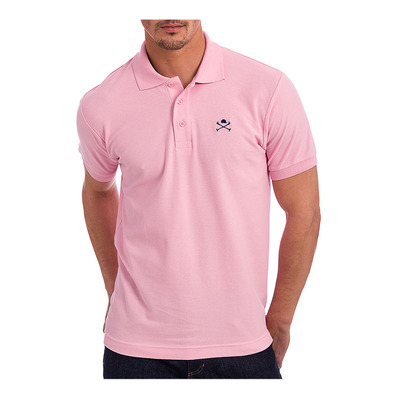 ACADEMY - Polo Homme pink