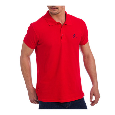 ACADEMY - Polo Homme red