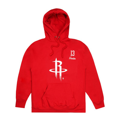 ROCKETS HARDEN - Sweat Homme red/white