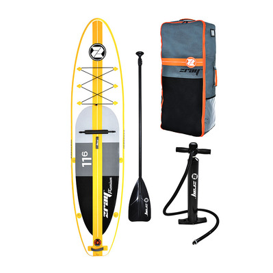 A4 PREMIUM 11'6 - Stand up paddle gonflable yellow/white + accessoires