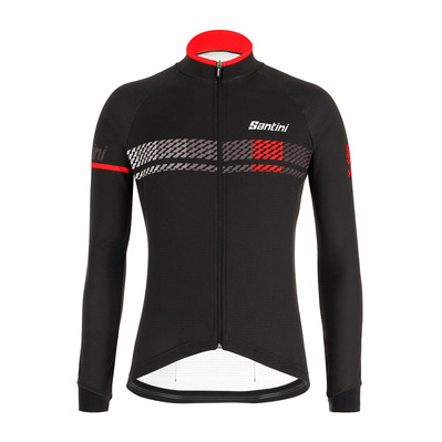 SERA DESIGN - Maillot Homme black/red