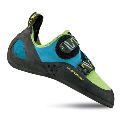 KATANA - Chaussons escalade green/blue