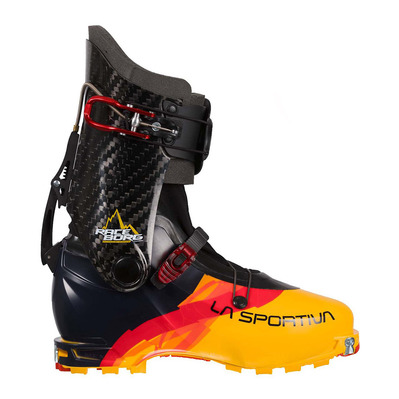 RACEBORG - Chaussures ski black/yellow
