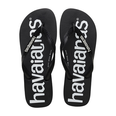 HAVAIANAS - TOP LOGOMANIA - Tongs Homme black