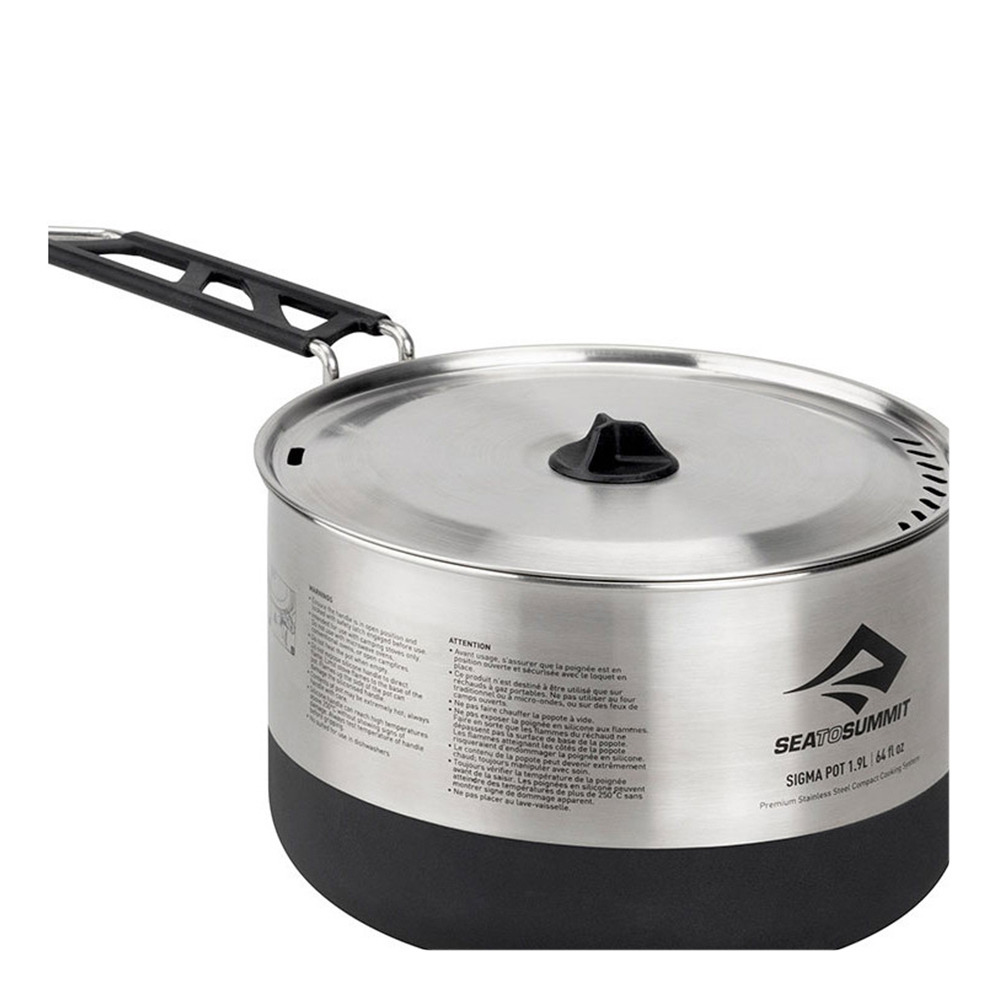 Sea To Summit SIGMA POT 1,9L Cacerola acero inoxidable