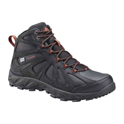 COLUMBIA - PEAKFREAK™ XCRSN II MID LEATHER OUTDRY™ - Zapatillas de senderismo hombre black/super sonic