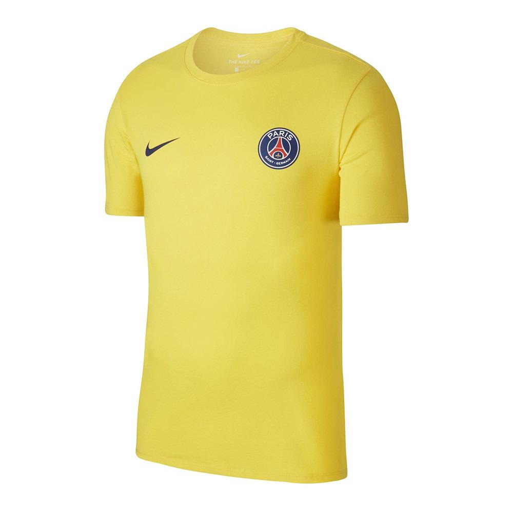 tee shirt nike hommes jaune