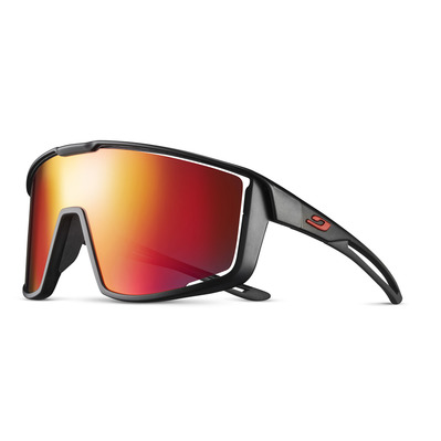 JULBO - FURY - Lunettes de soleil black/red/multilayer red