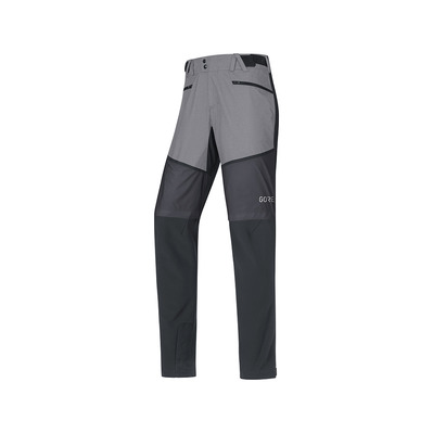 Wear H5 GORE® WINDSTOPPER® - Pantaloni ibridi Uomo black/terra grey