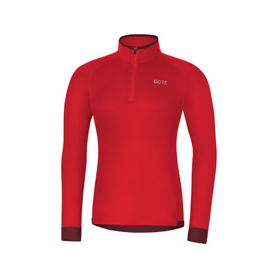 Wear M THERMO LIGHT - Maglia Uomo red/chestnut red