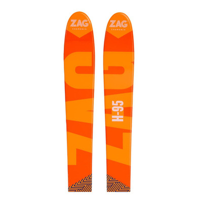 Zag H95 18/19 - Skis all mountain Homme