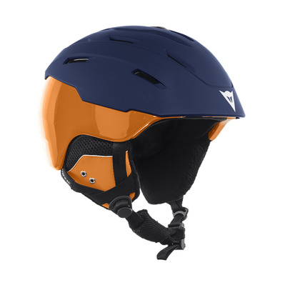 D-BRID - Casco da sci black iris/russet orange
