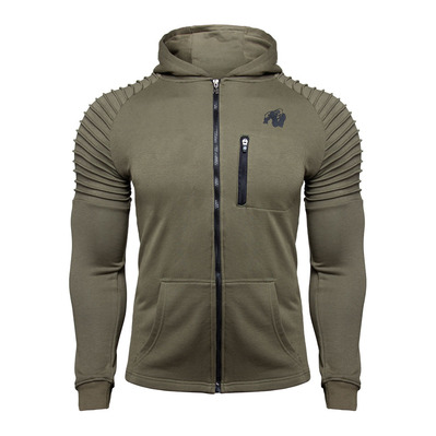 DELTA - Sweat Homme army green