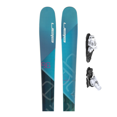 RIPSTICK 86 W 2018 - Esquís all mountain/freeride mujer + fijaciones SQUIRE 11 B90 red