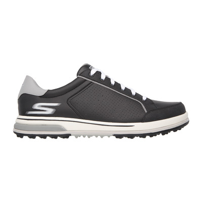 GO GOLF DRIVE 2 - Chaussures Homme black synthetic/white trim
