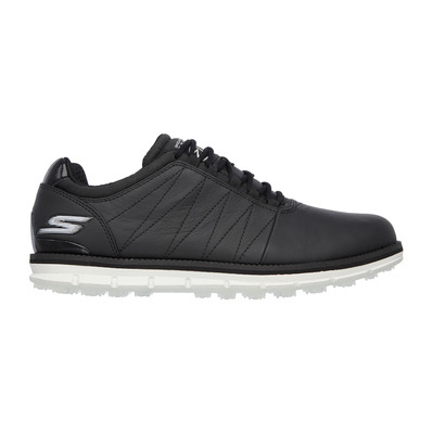 GO GOLF TOUR ELITE - Chaussures Homme black leather/white trim