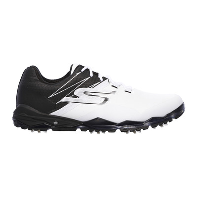 GO GOLF FOCUS COLLEGIATE - Chaussures Homme white and black synthetic/trim