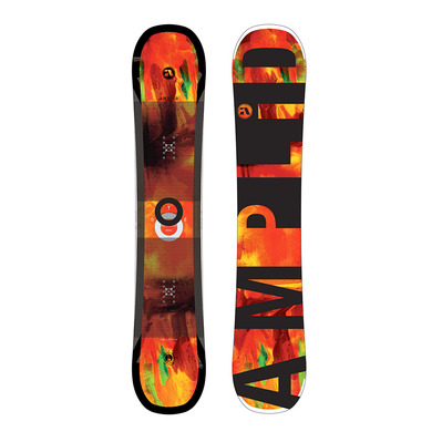 STEREO WIDE 17/18 - Snowboard all mountain/freestyle orange/black
