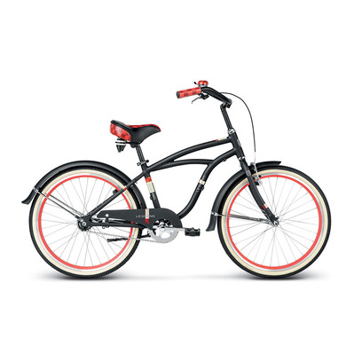 "BOWMAN 24"" - Cruiser Junior black/red matte"