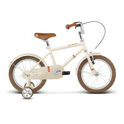 "GILBERT 16"" - Vélo à roulettes Junior cream glossy"
