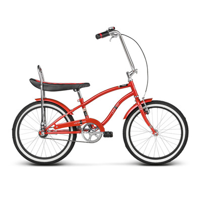 "KEVIN 20"" - Cruiser Junior red/black glossy"