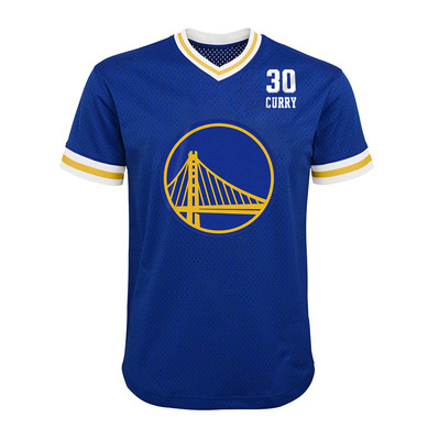 PLAY MAKER GOLDEN STATE WARRIORS STEPHEN CURRY - Camiseta hombre team color
