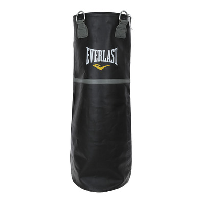 LEATHER HEAVY BAG 32Kg - Saco de boxeo black