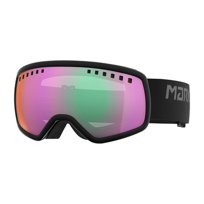 16:9 - Masque ski black/clarty mirror