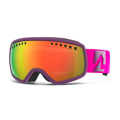 16:9 - Masque ski Homme deep purple/red plasma mirror