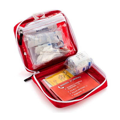 FIRST AID KIT LARGE FULL - Botiquín primeros auxilios red
